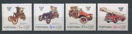 258 PORTUGAL 1981 - Yvert 1522/25 - Camion Voiture Pompiers - Neuf ** (MNH) Sans Charniere - 1910-... Republic