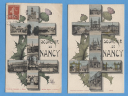 54 - NANCY - 2 CARTES - CROIX DE LORRAINE CHARDON - BON ETAT - Nancy