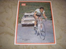 MIROIR Du CYCLISME ENCART MC054 Jean FORESTIER PEUGEOT BP 404 PEUGEOT 1965 - Deportes