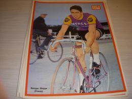 MIROIR Du CYCLISME ENCART MC068 Georges CHAPPE MERCIER HUTCHINSON 1966 - Deportes