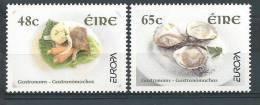 Irlande 2005 N°1654/1655 Neufs ** Europa Gastronomie - Nuovi