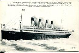 "N°2697 T -cpa ""le Titanic"" - Paquebote"