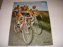 MIROIR Du CYCLISME ENCART MC133 Cyrille GUIMARD FAGOR MERCIER HUTCHINSON 1970 - Deportes