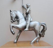 Statuette JEANNE D'ARC à Cheval - Régule ? - Sculptures