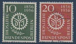 BERLIN      1956  Sté Des Ingénieurs   N° Mi  138-139 - Oblitérés