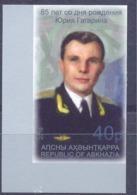2019.  Abkhazia, Space, 85th Birth Anniv. Of Yurii Gagarin, 1v Imperforated, Mint/** - Raumfahrt