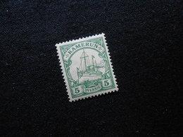 D.R.Mi 8  5Pf*MLH  - Deutsche Kolonien ( Kamerun ) 1900  Mi 14,00 € - Colony: Cameroun