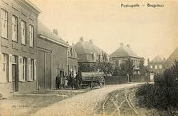 CPA - Belgique - Poelcapelle - Brugstraat - Langemark-Poelkapelle