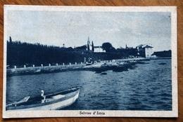SALVORE D'ISTRIA  - CARTOLINA Con Annullo : SALVORE *POLA* 9/8/37 Per NAPOLI - Trieste