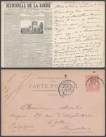 """France - Carte Postale Thématique """"Journal"""" : Mémorial De La Loire (Chronique Du Dimanche) - Histoire"""