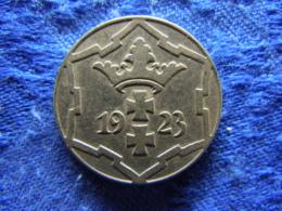 DANZIG 10 PFENNIG 1923, KM143 - Pologne