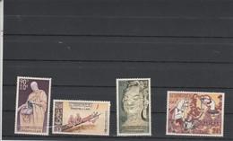 Laos Poste Aérienne Yvert Série PA 27 à 30 ** Neufs Sans Charnière - Culte De Bouddha - Laos