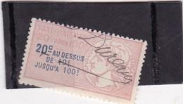 T.F.Taxes Sur Les Paiements N°1A - Revenue Stamps