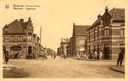CPA - Belgique - Meesen - Messines - Rue Des Pierres - Steenstraat - Messines - Mesen