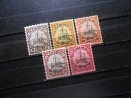 D.R.Mi7/11-13/15  3/25/30/40/80Pf*MLH  - Deutsche Kolonien ( Kamerun )  1900  Mi 11,80 € - Colonia: Camerun