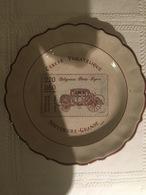 Assiette En Porcelaine De Di Stéfano (1989) : Cercle De Moyeuvre-Grande, Journée Du Timbre Diligence (235 X 30 Mm) - Piatti