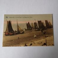 Heyst S/Mer - Heist // Sur La Plage - Bateaux De Peche (kleur) 19?? Ed. Star / Zeldzaam - Heist