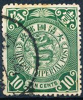 Stamp China 1898-1910? 10c Used Lot114 - China