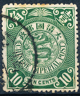 Stamp China 1898-1910? 10c Used Lot114 - Cina
