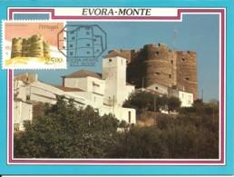 Carte Maximum - Portugal - Evoramonte - Castelo - Castle - Chateau - Cartes-maximum (CM)