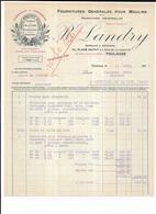 Haute Garonne 31 Toulouse R LANDRY Place Dupuy Fournitures Pour Moulins 1927 Minoland - 1900 – 1949