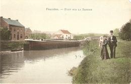Franière Pont Sur La Sambre (coin Supérieur Droit Déchiré) - Floreffe