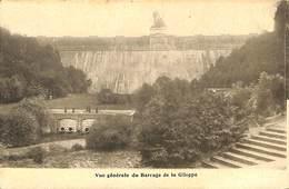 CPA - Belgique - Gileppe (Barrage) - Vue Générale Du Barrage - Gileppe (Barrage)