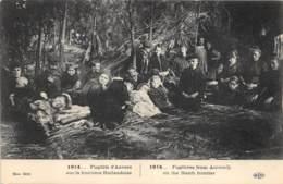 Fugitifs D'Anvers Sur La Frontière Hollandaise - Weltkrieg 1914-18