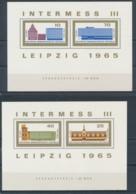 DDR/East Germany/Allemagne Orientale 1965 Mi: Blocks 23+24 (PF/MNH/Neuf Sans Ch/nuovo Senza C./**)(5106) - Blokken