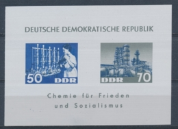 DDR/East Germany/Allemagne Orientale 1963 Mi: Block 18 (PF/MNH/Neuf Sans Ch/nuovo Senza C./**)(5107) - [6] Oost-Duitsland