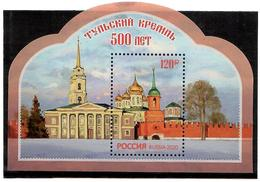 Russia 2020 .  Tula Kremlin(Architecture). S/S :120.00 - Nuevos