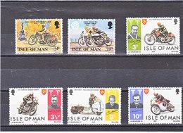 MAN 1973-1974 MOTOS  Yvert 22-23 + 29-32 NEUF** MNH - Man (Insel)