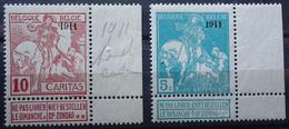N°97/98 Mnh** - 1910-1911 Caritas