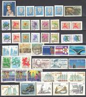 Canada 1977- Year Set - Mi.648-679 - Used Gestempelt - Complete Years