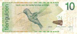 Netherlands Antilles P.28 10 Gulden  2006 Vf - Antilles Néerlandaises (...-1986)