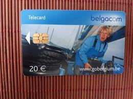 Phonecard  Belgium 20 Euro II 31/03/2006 Used Low Issue Rare - Avec Puce