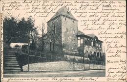 Ansichtskarte Aachen Straßenpartie Linzenhäuschen 1905 - Aachen