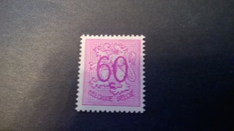 Timbre Ancien Vendu à 20% De Sa Valeur Catalogue Cob 855** - Belgique