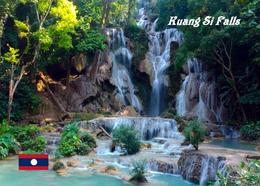 Laos Kuang Si Falls New Postcard - Laos