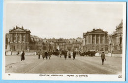CPSM 78 VERSAILLES Façade Du Chateau - Versailles (Kasteel)
