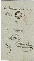 "1839, Posthorn -Stp. "" RZESZKOW ""  - Gallizien  , A3001 - ...-1850 Prephilately"