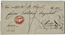 """1839, """" Wischau -Franco """" Rot! , A3002 - ...-1850 Prephilately"""