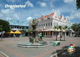 Aruba Oranjestad Street View New Postcard - Aruba