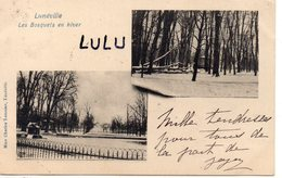 DEPT 54 : Précurseur édit. Mme Charles Lemoine : Lunéville Les Bosquets En Hiver - Luneville