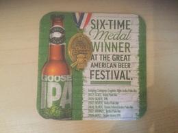 Bierkaart Brouwerij Brewery Goose Island IPA - Beer Mats