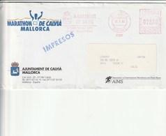 Mallorca - Espana 1993 - Marathon De Calvià Mallorca - - Affrancature Meccaniche Rosse (EMA)