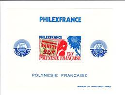 POLYNESIE FRANCAISE - BF N° 6 - 150F Philexfrance 82 - Neuf - Blocks & Kleinbögen