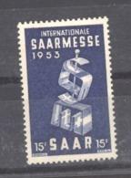 Sarre  :  Yv  319  ** - 1947-56 Gealieerde Bezetting