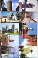 BELARUS : 10 Different  USED DUMPING - Bielorussia