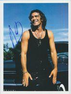 ANTONIO BANDERAS In Person Signed Glossy Photo AUTOGRAPHE / AUTOGRAMM  20/27 Cm - Handtekening
